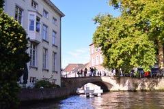 Uno stimolo a visitare Bruges - il Belgio Immagine Stock
