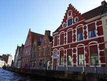 Uno stimolo a visitare Bruges - il Belgio Fotografia Stock Libera da Diritti