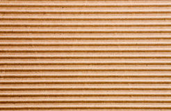 Uno strato di cartone ondulato Immagine Stock
