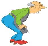 Uno stregone anziano. Fotografia Stock Libera da Diritti