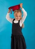 Uno studente con un cappello Immagini Stock