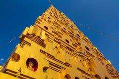 Uno stupa dorato Fotografia Stock