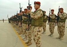UNO-Truppen richten NO3 aus. Lizenzfreie Stockfotografie