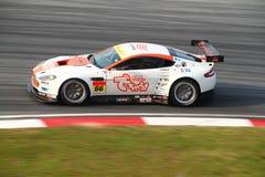 Uno-Velocidad Aston 66, SuperGT 2010 Foto de archivo