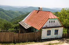 Unoccupied abandoned house Stock Images