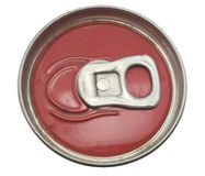 Unopen of aluminum drink can. Royalty Free Stock Photos