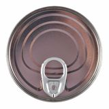 Unopened aluminium tin can. Royalty Free Stock Image