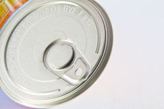 The unopened cans in the canned. Aluminum cans from the factory Royalty Free Stock Images