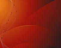 Unordentlicher roter Hintergrund Stockfoto