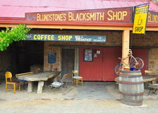 Unorthodox coffee shop Stock Images