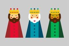 Unos de los reyes magos ilustración del vector