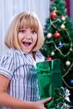 Unpack gifts Stock Photo