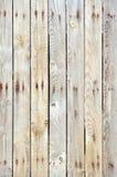 Unpainted деревянная предпосылка загородки Стоковое Изображение