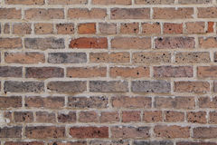 Unpainted Brick Wall. Forms a pattern that can be used for backgrounds Royalty Free Stock Photos
