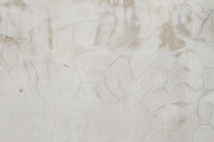 Unpainted concrete wall. Unpainted crack concrete wall background Stock Images