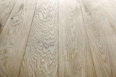 Unpainted oak wood texture and background. Stock Photography