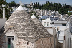 Unpainted Trullo Stock Photos