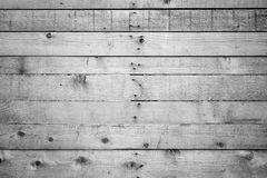 Unpainted wood board wall. Texture background in black and white with vignetting Stock Photo