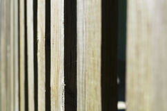 Unpainted Wooden Fence Royalty Free Stock Image