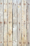 Unpainted wooden fence background Stock Image