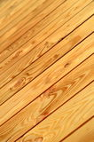Unpainted Wooden Floor Royalty Free Stock Image