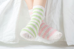 Unpaired Socks Royalty Free Stock Images