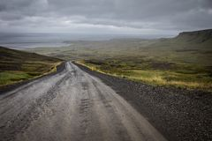 Unpaved road Royalty Free Stock Images