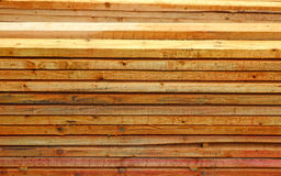 Unplaned thick planks Royalty Free Stock Photos