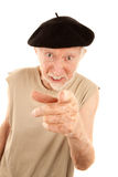 Unpleasant Senior Man Stock Photos