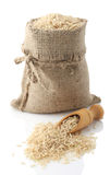 Unpolished рис Стоковая Фотография RF