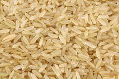 Unpolished rice (whole grain) Royalty Free Stock Photos