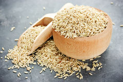 Unpolished rice Royalty Free Stock Photo
