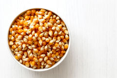 Unpopped popcorn Royalty Free Stock Images