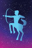 The Unpredictable Sagittarius Stock Image