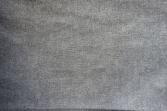 Unprinted grey jersey fabric from above. Unprinted light grey jersey fabric from above Royalty Free Stock Photo