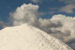 Unprocessed salt. Closeup of a unprocessed salt from a tradicional mine located in Rio Maior - Portugal Stock Photo