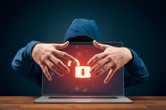 Free Unprotected Computer Usurped By Hacker Cyber Security Threat Concept Royalty Free Stock Image - 178324336