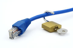 Unprotected Connection Stock Images