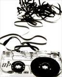Unravalled Kassetten-Band Lizenzfreies Stockfoto