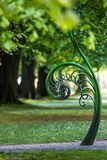 Unravelling fern, one of New Zealand symbols. Stock Photography