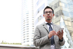 Unrecognizable business man Royalty Free Stock Photography