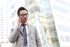 Unrecognizable business man Stock Photography