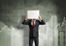 Unrecognizable businessman Stock Images
