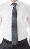 Unrecognizable businessman  standing in a pending pose Royalty Free Stock Photography
