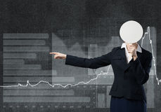 Unrecognizable businesswoman Stock Photo