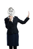 Unrecognizable businesswoman Royalty Free Stock Photography