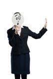 Unrecognizable businesswoman Stock Photography