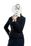Unrecognizable businesswoman Royalty Free Stock Photo