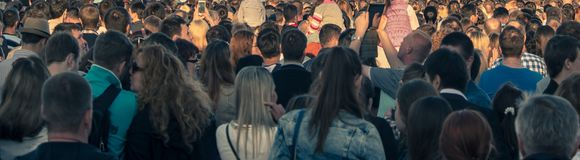 Crowds Stock Photography