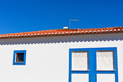 Unrecognizable Part of Residential House at Algarve, Portugal Stock Photography
